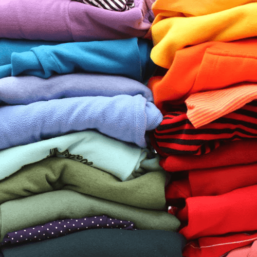 folded laundry Image01